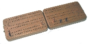 "Cribbage board - Folding ""S"" track"